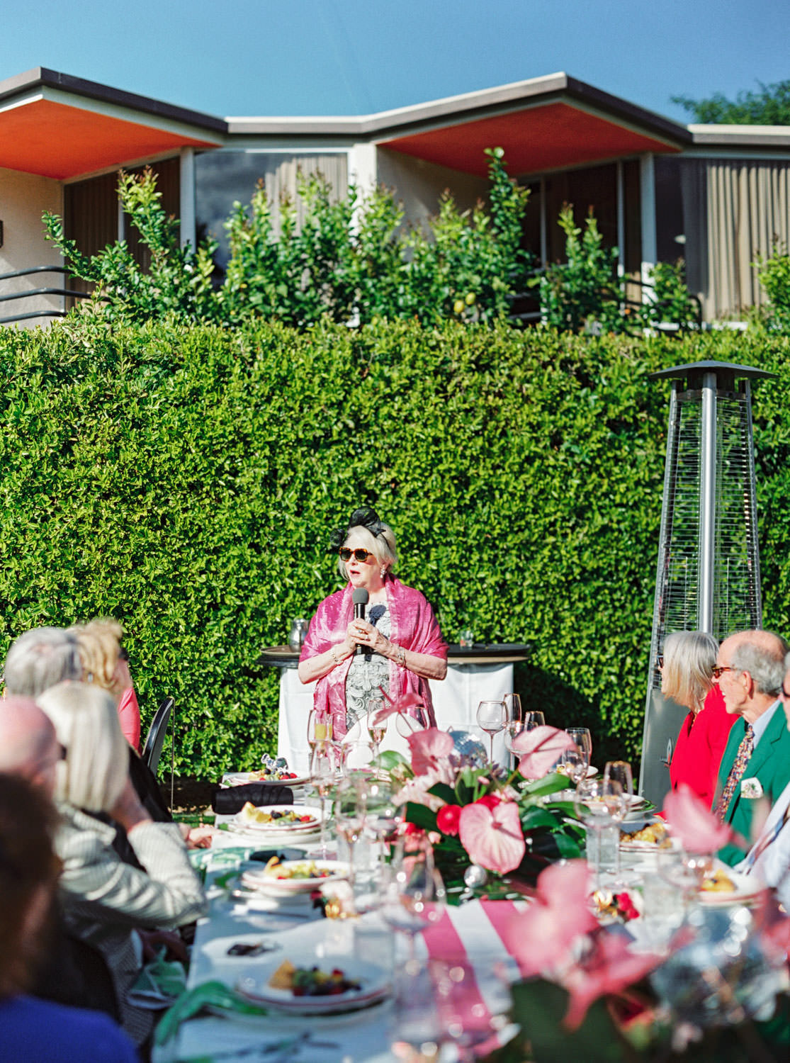 Mother of the bride toast. Riviera Palm Springs Wedding by Cavin Elizabeth Photography
