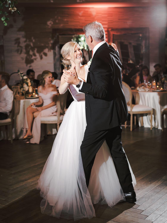 Father daughter dance. Estancia La Jolla Grande Room reception by Cavin Elizabeth Photography