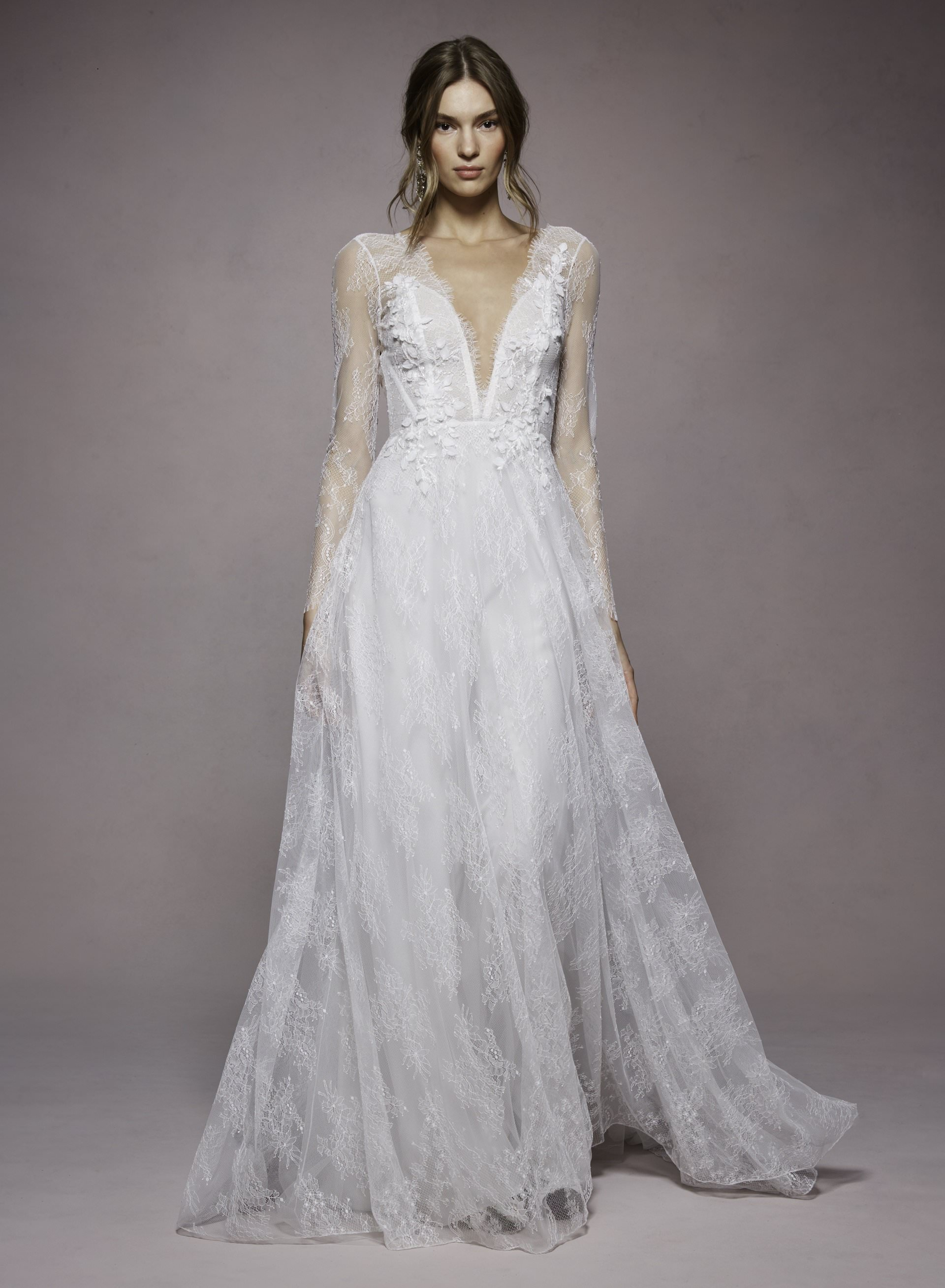 Angela by Marchesa Notte. Marchesa at The White Flower BRidal Boutique.