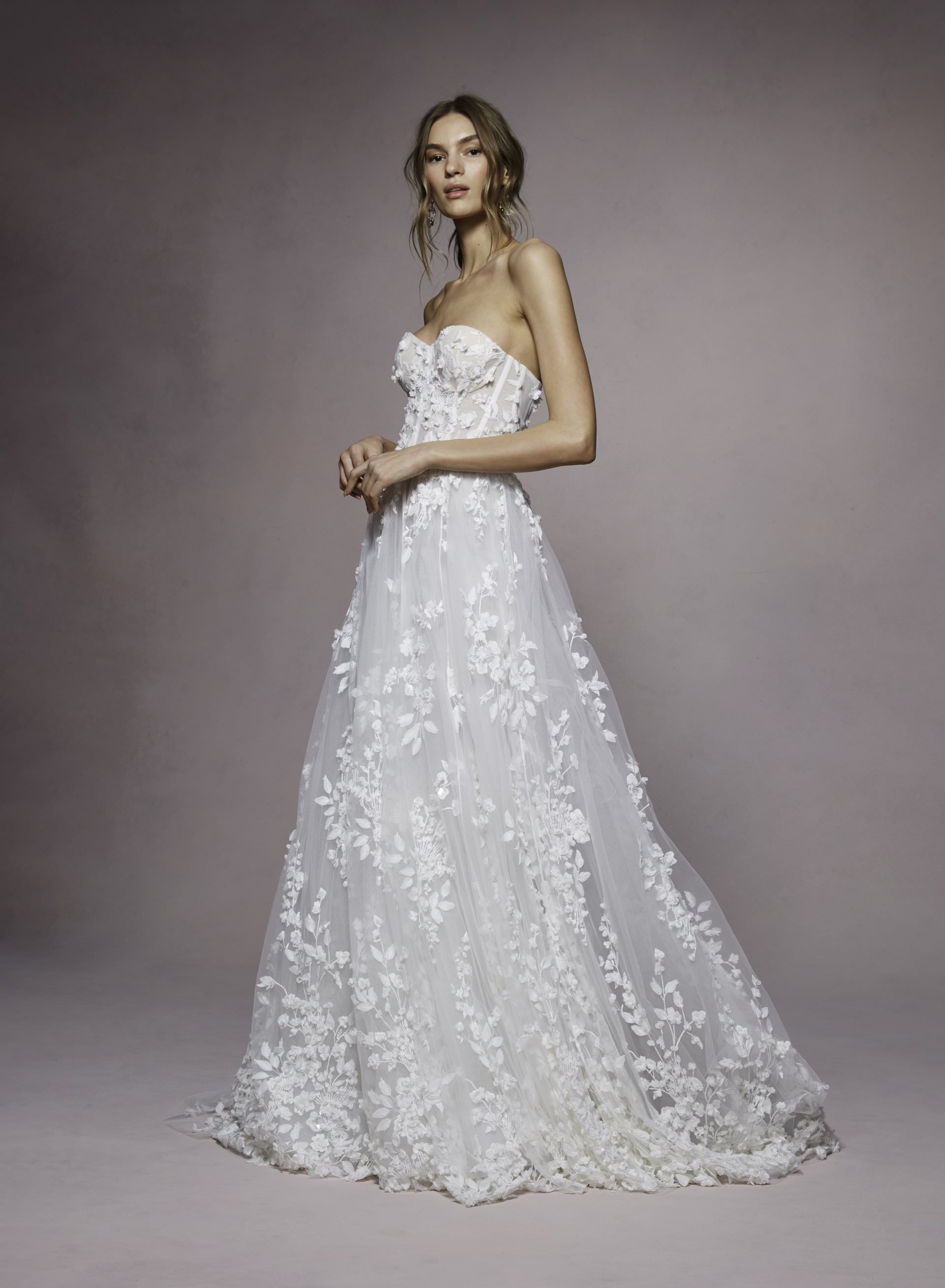 Bailey by Marchesa Notte. Marchesa at The White Flower BRidal Boutique.