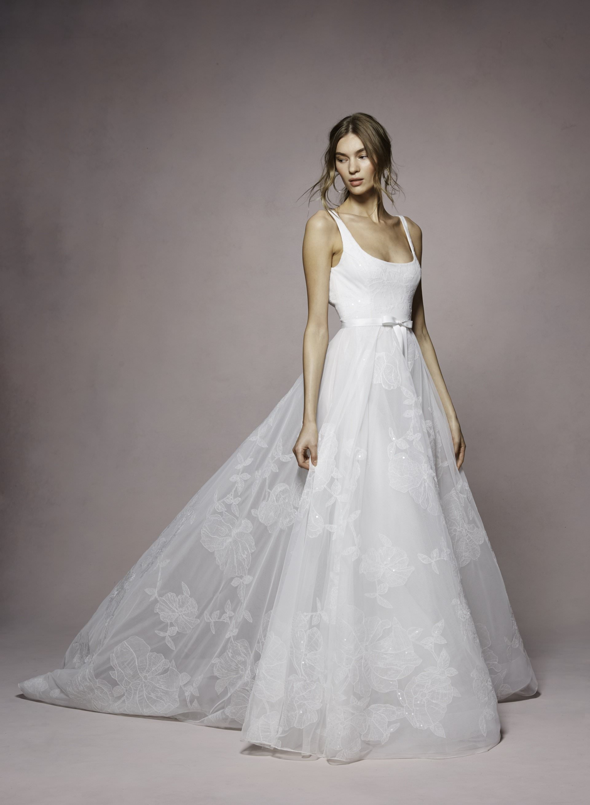 Bea by Marchesa Notte. Marchesa in San Diego at The White Flower BRidal Boutique.