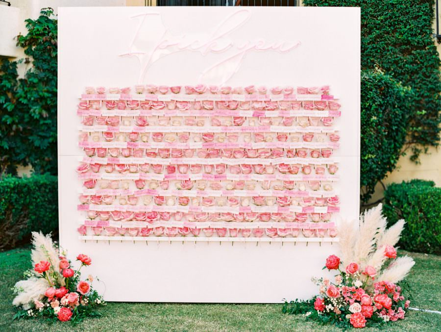 A Romantic Pink Miramonte Resort Wedding in Palm Desert