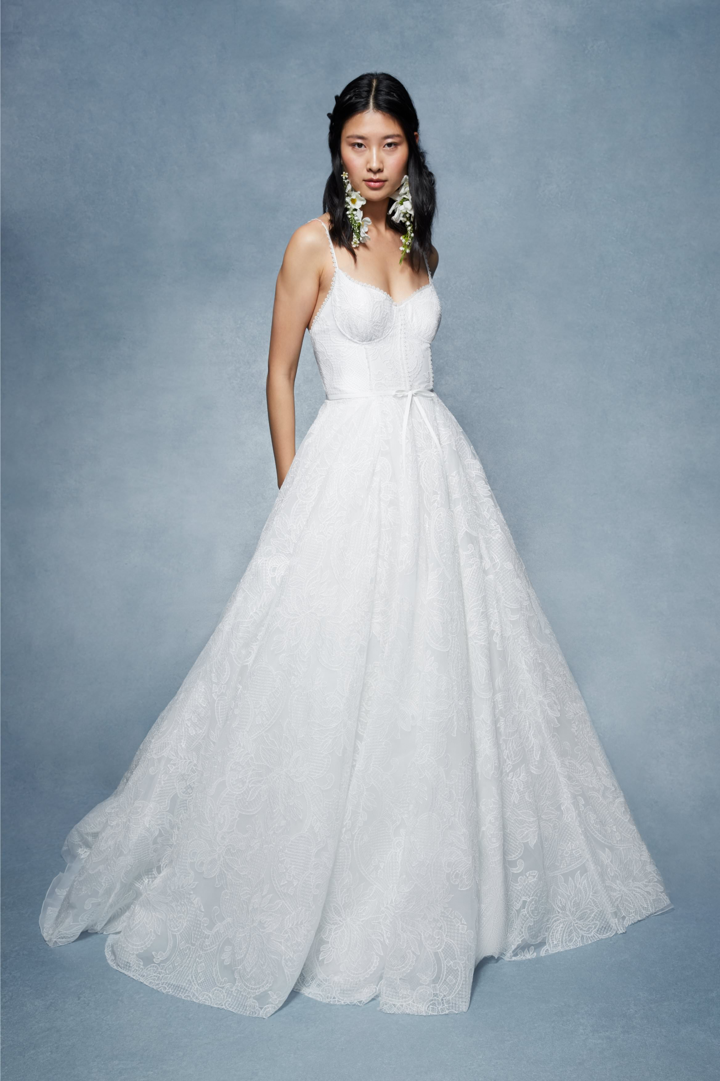 Irina by Marchesa Notte. Marchesa in San Diego at The White Flower BRidal Boutique.