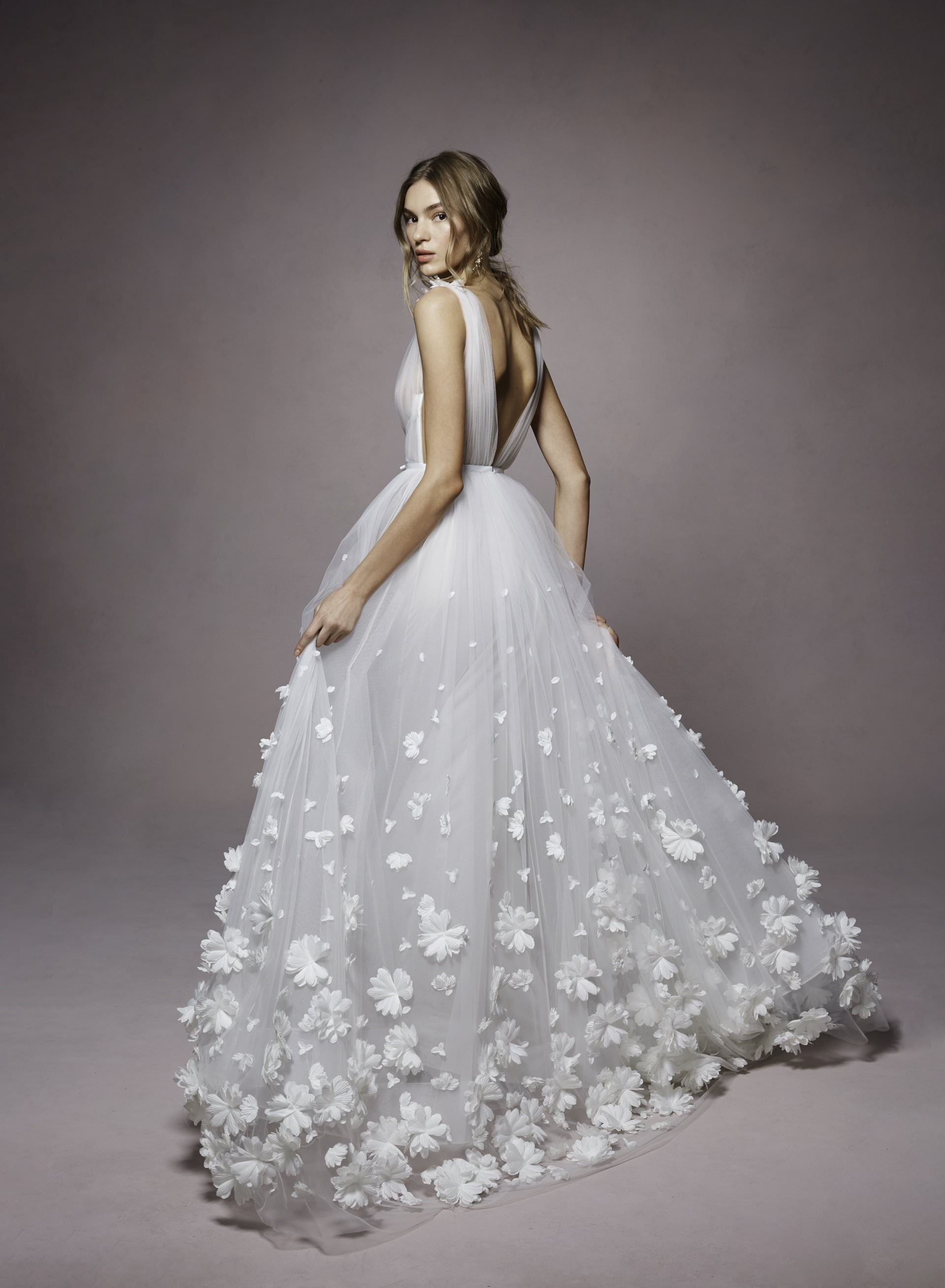 Kyla by Marchesa Notte. Marchesa in San Diego at The White Flower BRidal Boutique.