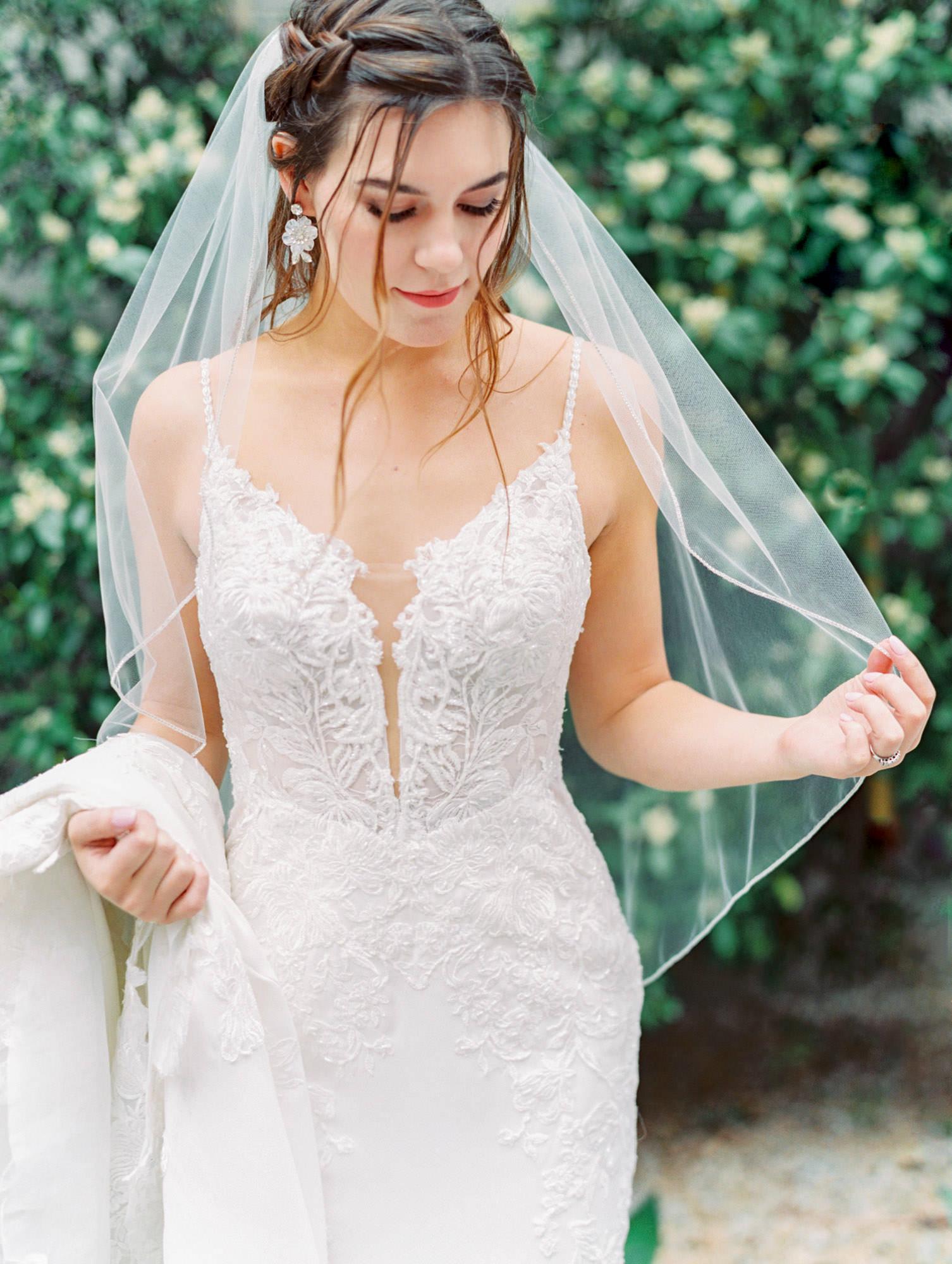 1165 floral beaded and crepe Martina Liana wedding dress in San Diego by Cavin Elizabeth - San Diego film photographer