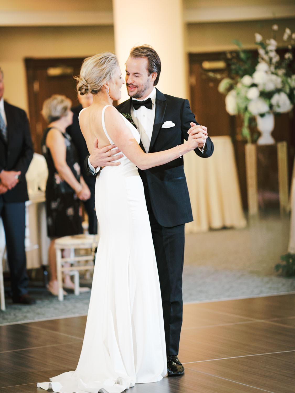 Bride and groom first dance. Hotel Del Wedding reception by Cavin Elizabeth.