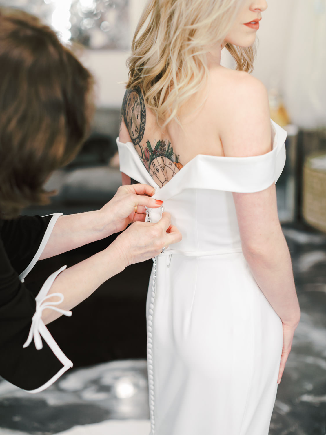 Wedding Dress Alterations in San Diego at The White Flower